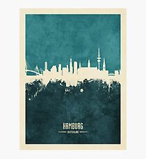 Hamburg Germany Skyline Photographic Print