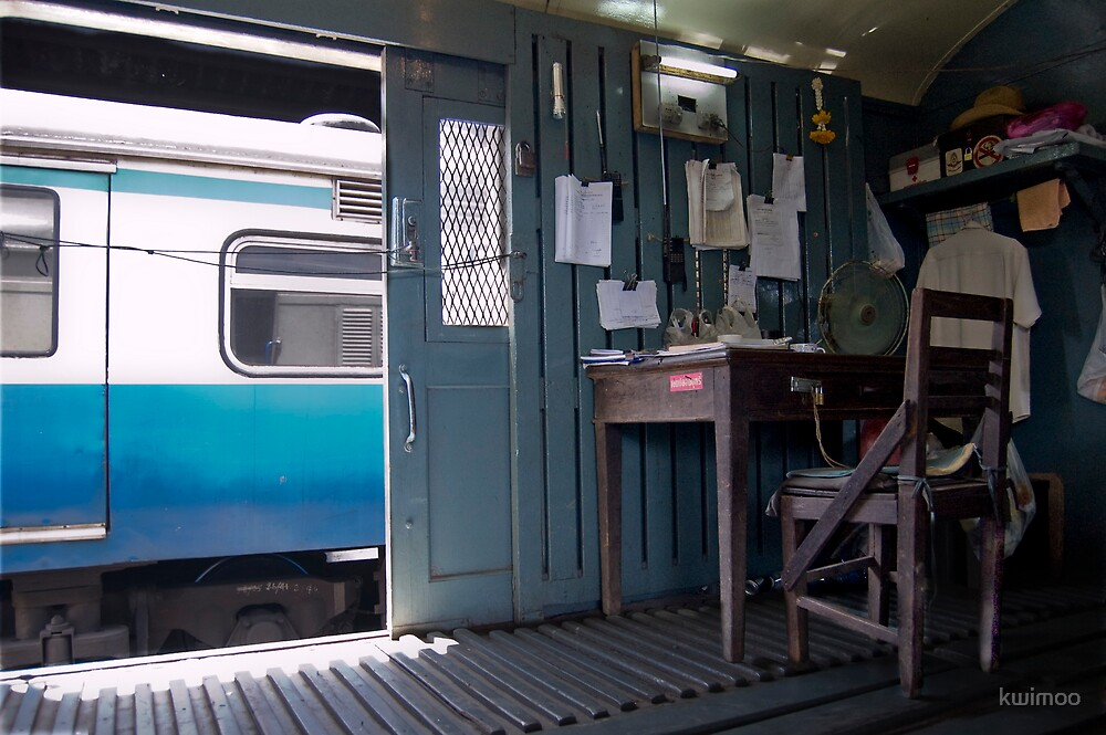 Train Office by kwimoo