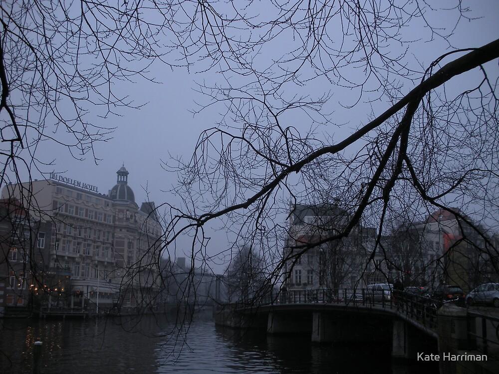 Amsterdam in Winter by Kate Harriman