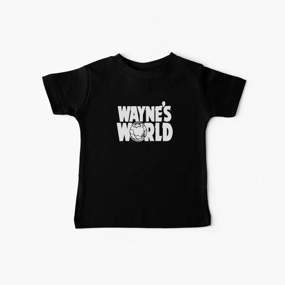 El mundo de Wayne Camiseta para bebés