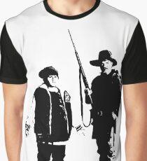 Ricky Baker und Onkel Hec, Jagd auf die Wildnis Grafik T-Shirt