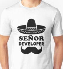Señor Developer (Senior Developer) Unisex T-Shirt
