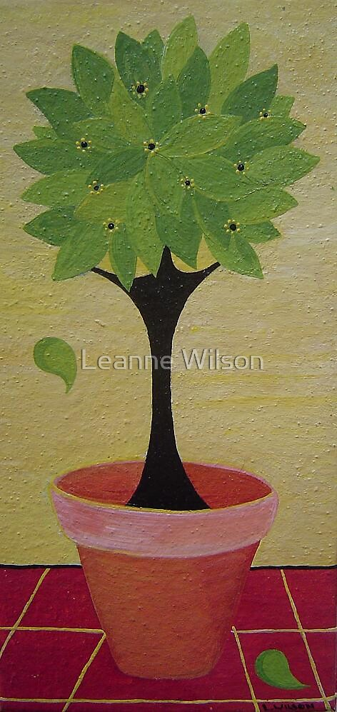 Topiary Tree by Leanne Wilson