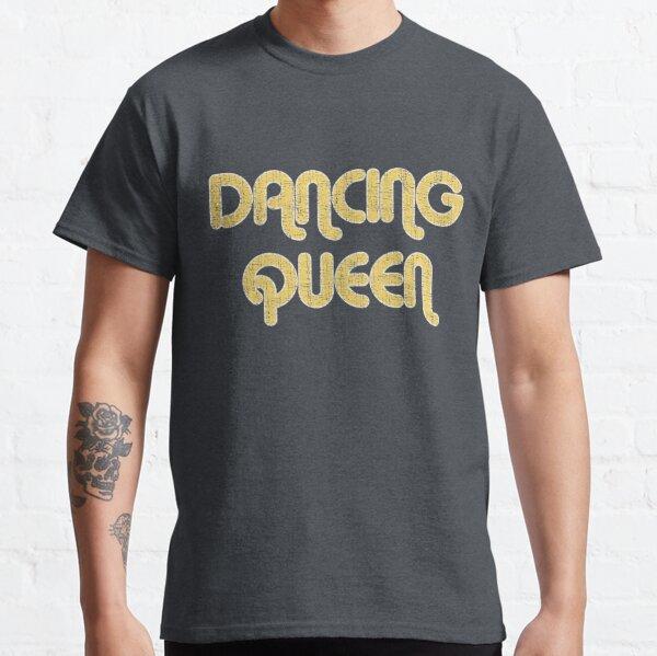 DANCING QUEEN Vintage Large Print 1970's Classic T-Shirt