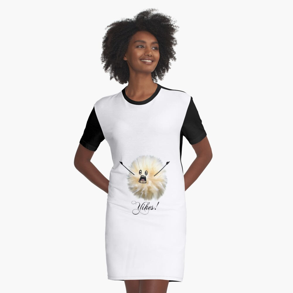 """Huch!"" Flusen Ball T-Shirt Kleid"