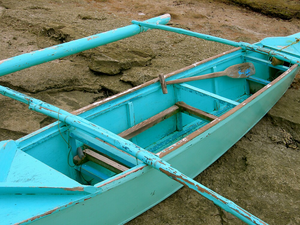 Blue Canoe by Gabriella Clare Marino