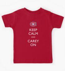 Keep Calm & Carey On Kids Clothes