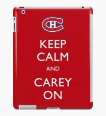Keep Calm & Carey On iPad Case/Skin