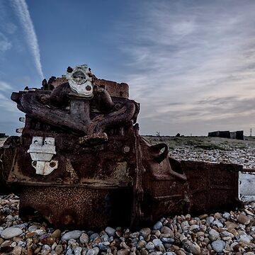 Camber Sands: Dead Engine Part by AntSmith