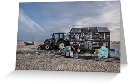 Camber Sands: Beach Hut with Tractor by AntSmith