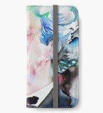 MARK TWAIN - watercolor portrait.5 iPhone Wallet/Case/Skin