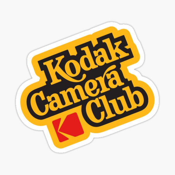 Kodak Camera Club Sticker