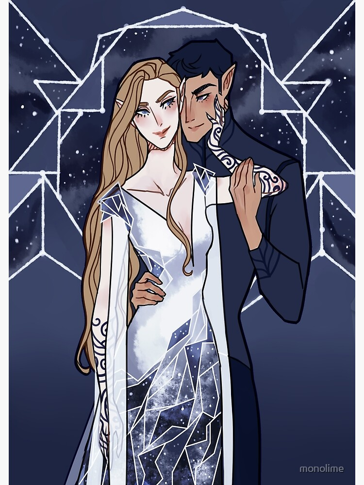 Cosmic Couple by monolime