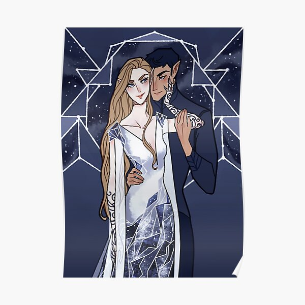 Cosmic Couple Poster