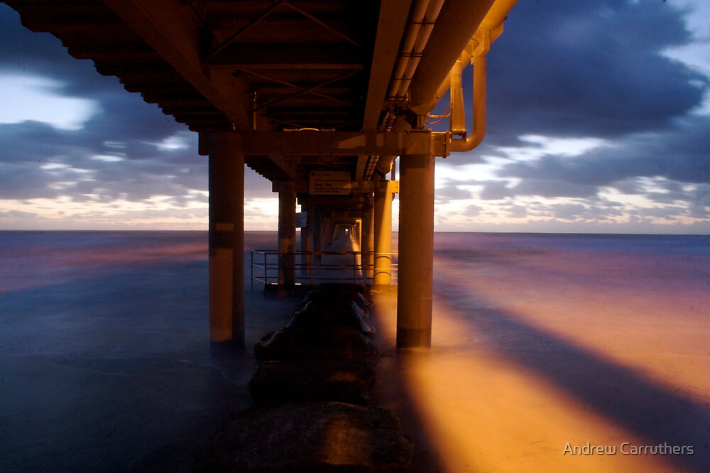 Pumping Jetty by Andrew Carruthers