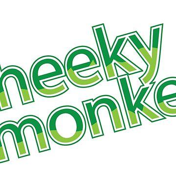 Cheeky Monkey design by tonydew