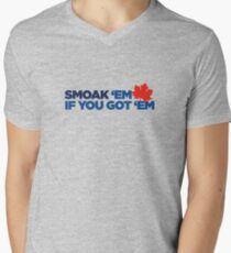 Smoak 'em if you got 'em Men's V-Neck T-Shirt