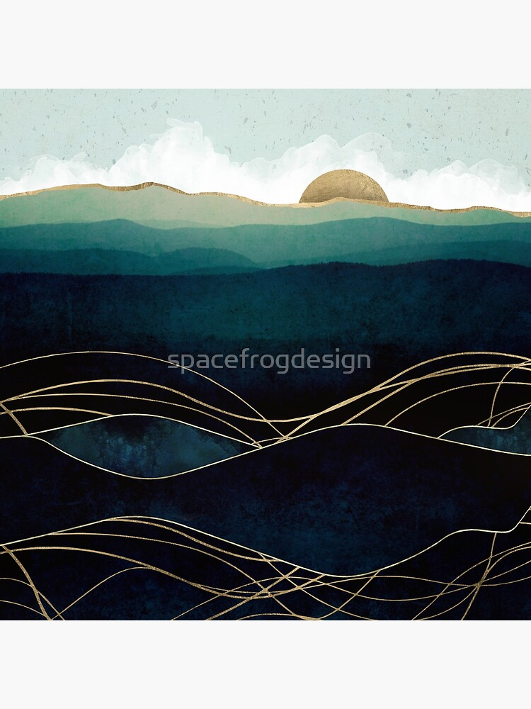 Indigo Waters by spacefrogdesign
