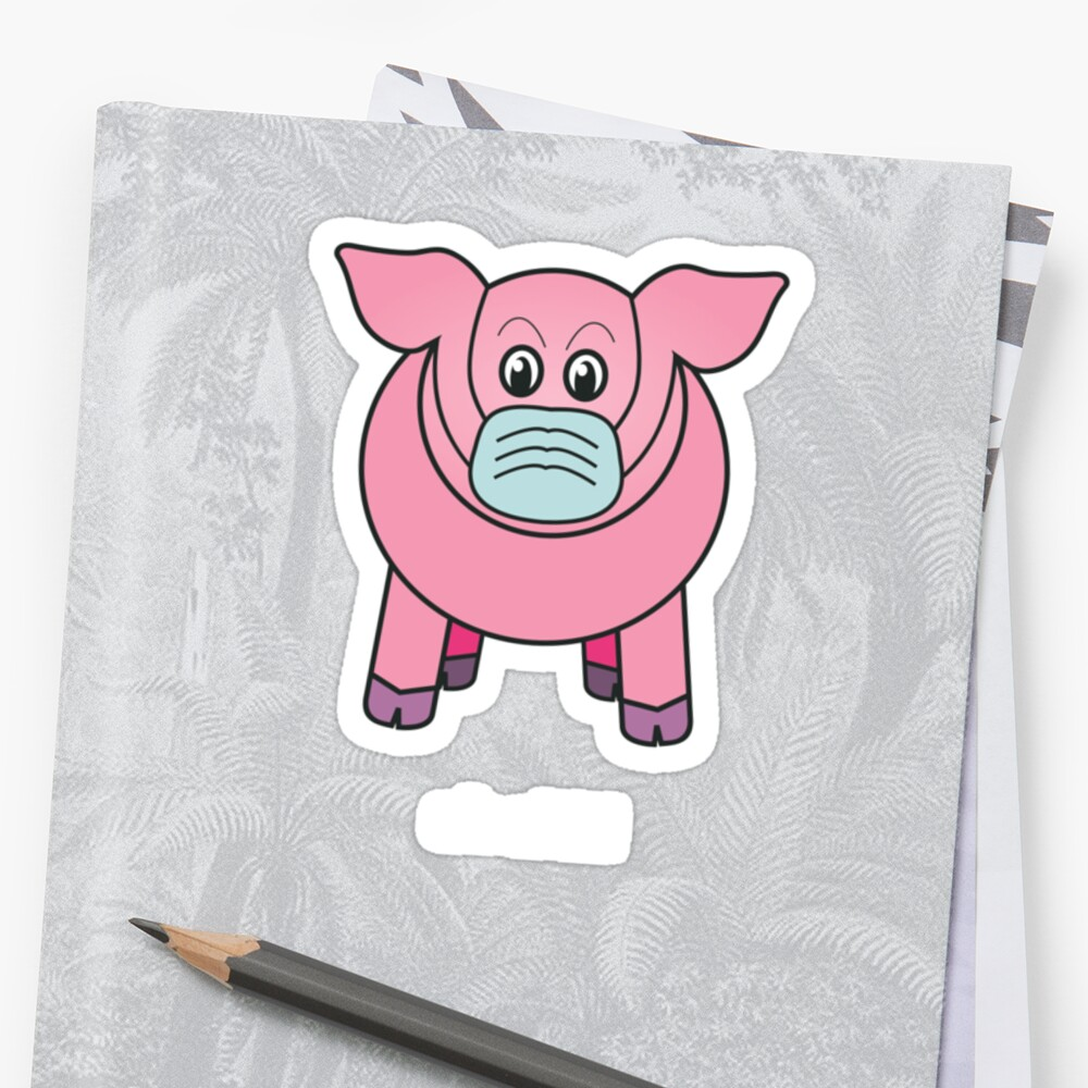 """Bobby the pig says: """"oh shit!"""" by Naf4d"""