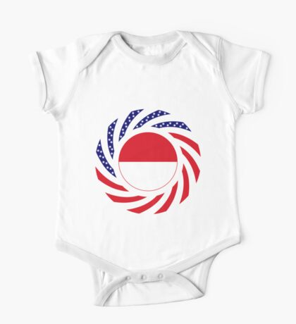 Monacan American Multinational Patriot Flag Series Kids Clothes