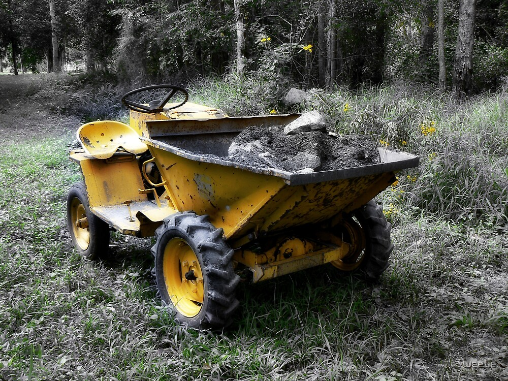 Dad's old dumper by Tweetie