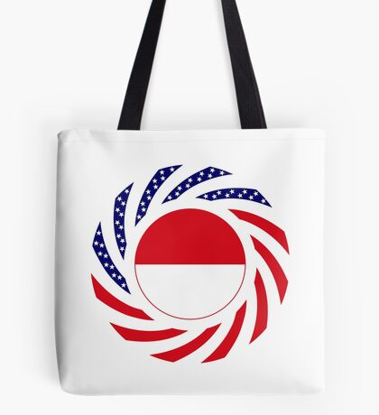 Monacan American Multinational Patriot Flag Series Tote Bag