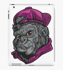Angry Mascot design typography and fun design iPad Case/Skin