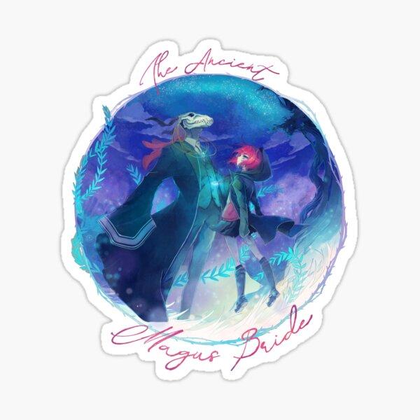 The Ancient Magus Bride - Mahoutsukai no. Yome typo poster (square ver.) Sticker
