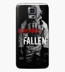 Funda/vinilo para Samsung Galaxy Recuerda los Caídos (RED)