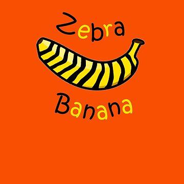 Is that a Zebra Banana?? by pauljamesfarr