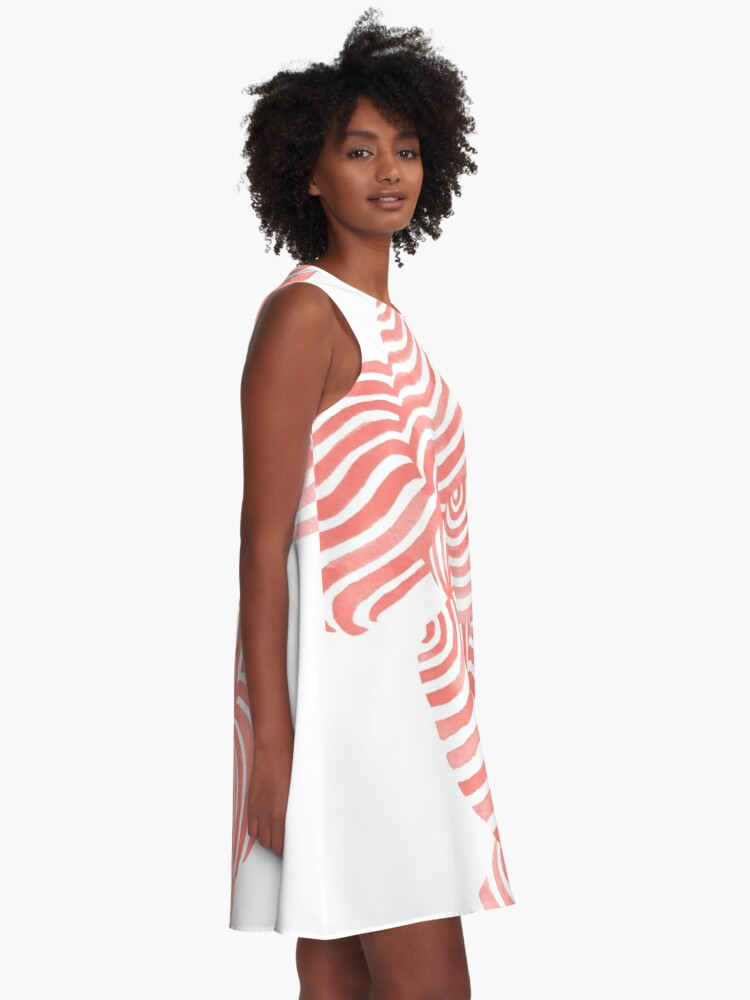 Alternate view of Sea Shells A-Line Dress