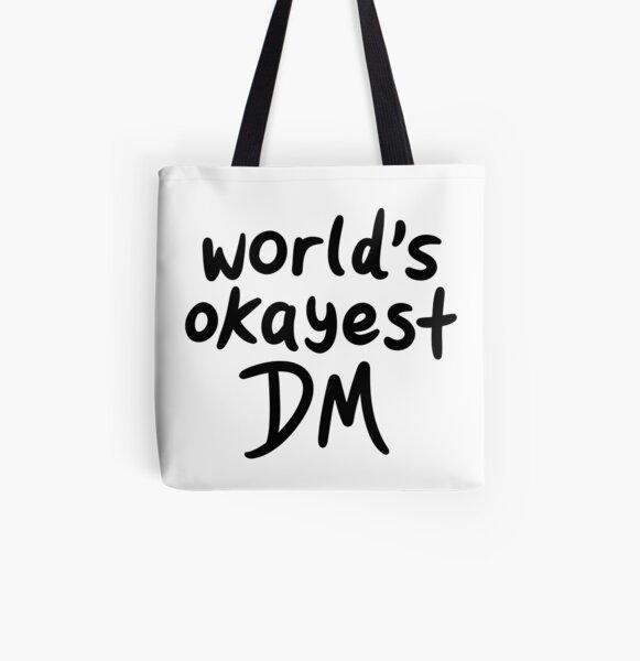 Le meilleur Okayest du monde Tote bag doublé