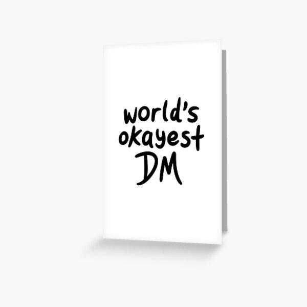 Le meilleur Okayest du monde Carte de vœux
