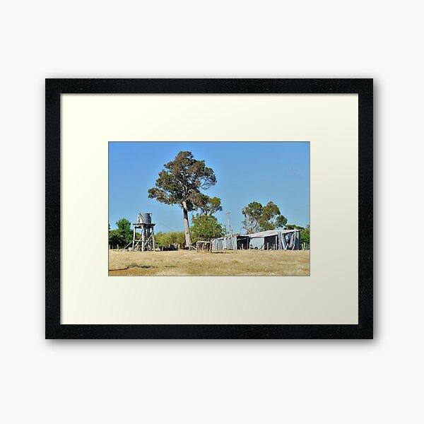Outbuildings Framed Art Print