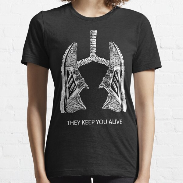 Running They keep you alive Shirt - Miles Runner Shoes Essential T-Shirt