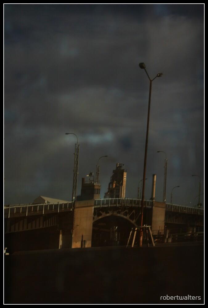 Bridge in bad reflection by robertwalters