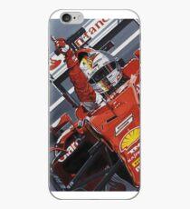 Vettel Singapore 2015 win design iPhone Case