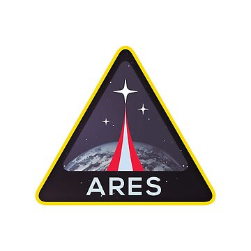 Ares space sticker by WanderingFox
