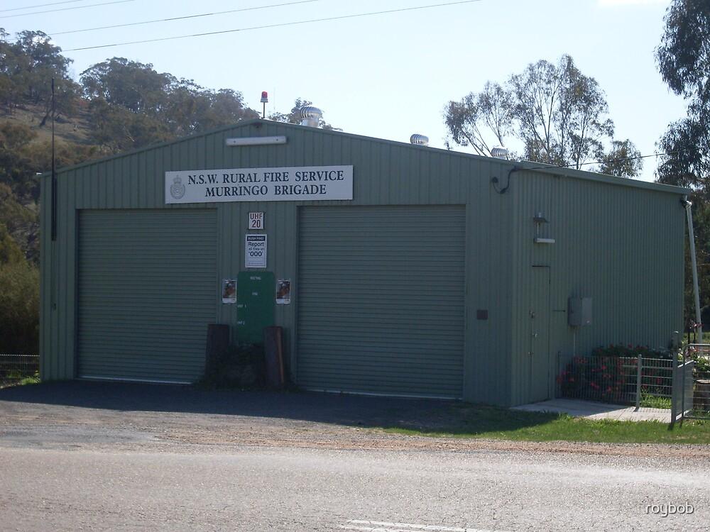 Murringo Rural Fire Service Station by roybob