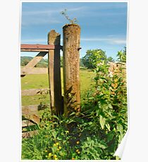 Gate Post Poster