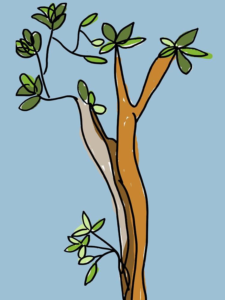 Tree by littleredplanet