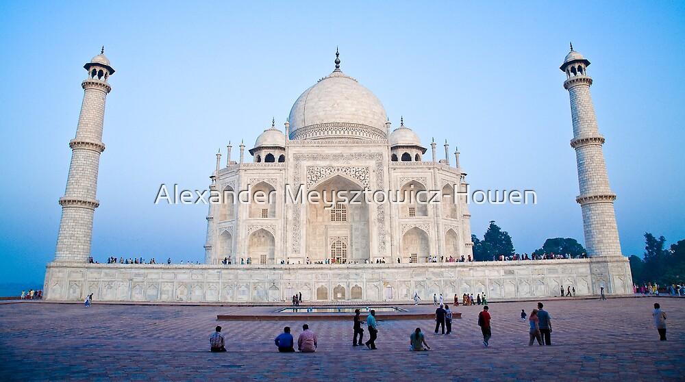 Taj Mahal at dusk by Alexander Meysztowicz-Howen