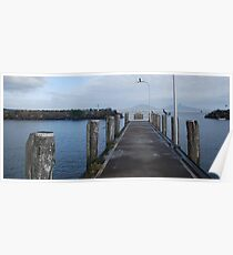 Crowdy Head Harbour Jetty Poster