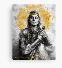 Lady of the Mercians - The Last Kingdom Canvas Print