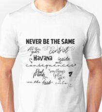 Camila Canciones Slim Fit T-Shirt