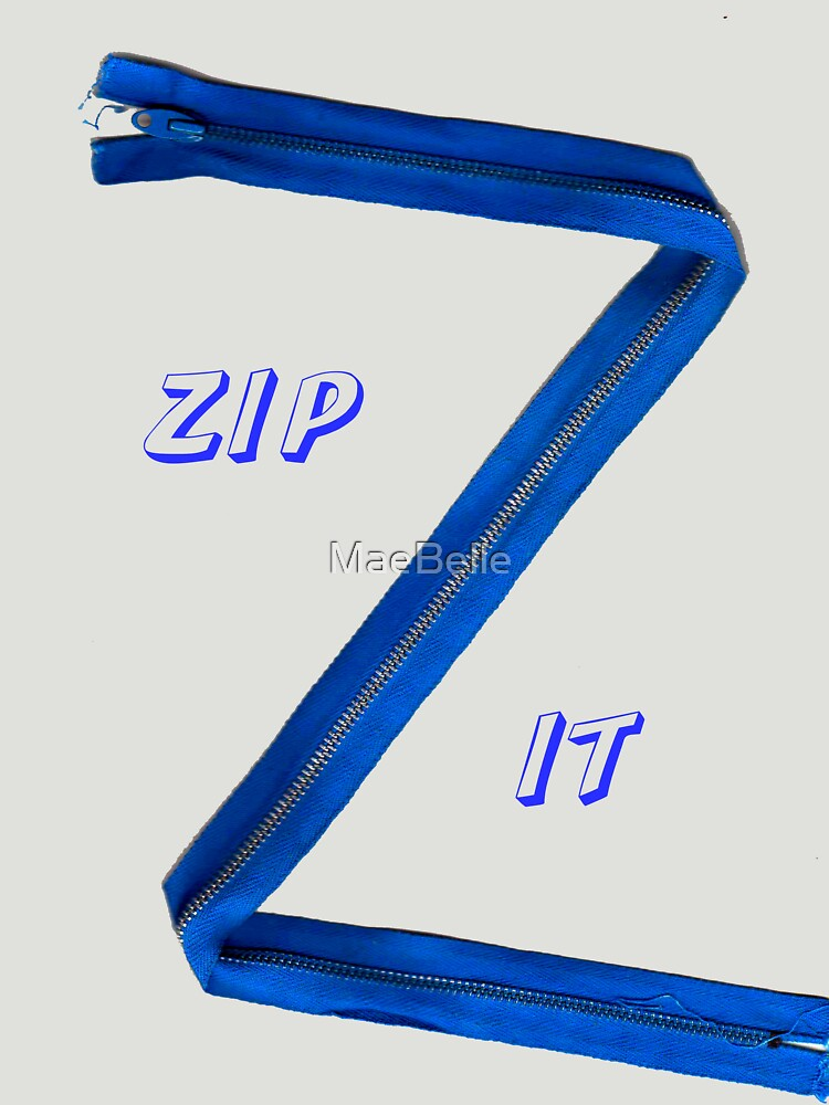 Zipper -Tee by MaeBelle