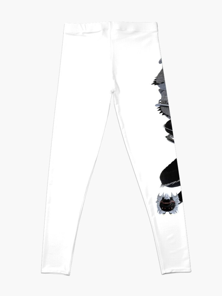 Alternate view of Yin and Yang, the Dragon Brothers (II) Leggings