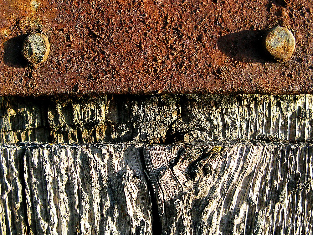 Wood and Rust by Al Williscroft