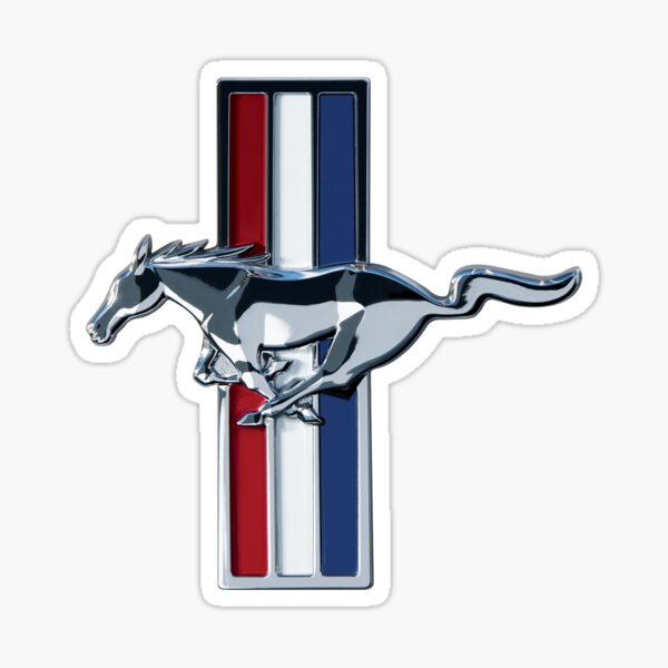 Ford Mustang Logo Sticker Sticker
