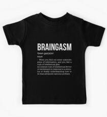 Braingasmus Kinder T-Shirt